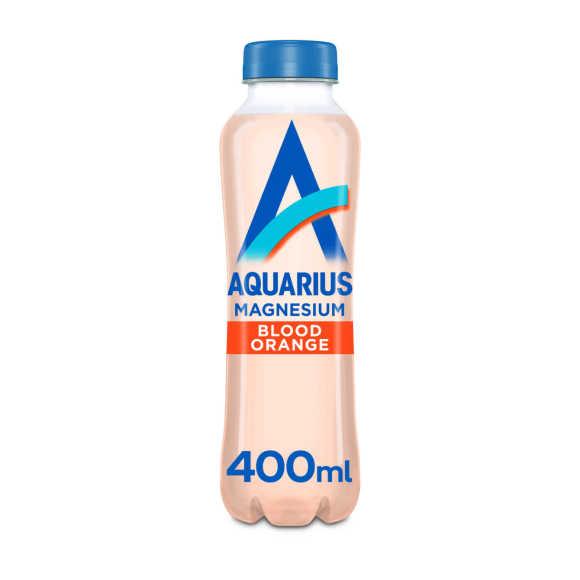Aquarius Water + Magnesium Blood Orange 400 ml product photo
