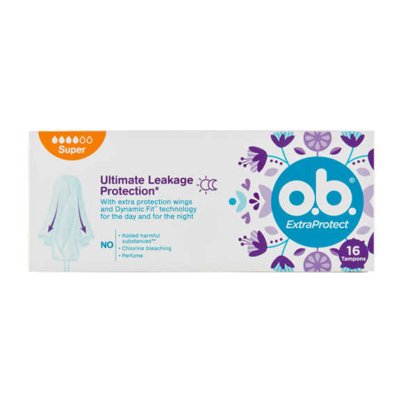 O.B. Tampons extra protect super product photo