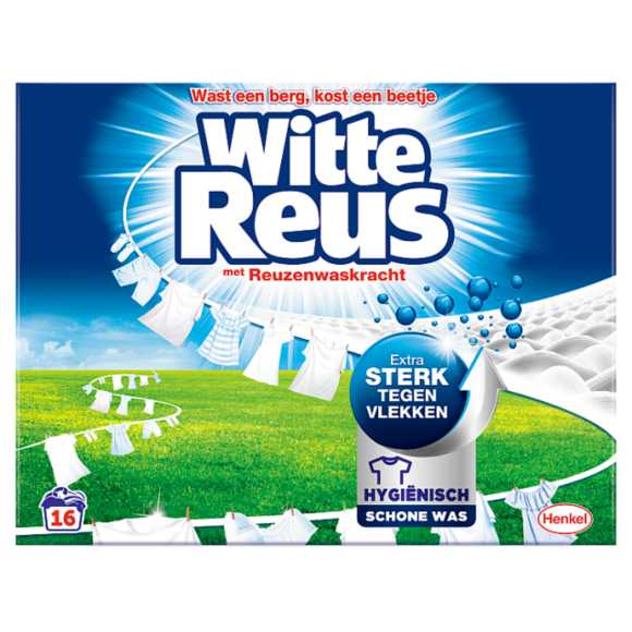 Witte Reus Wasmiddel poeder witte reus product photo