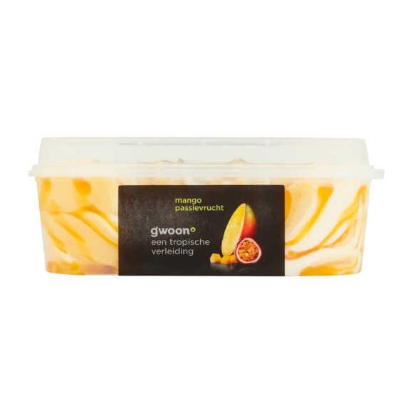 g'woon Roomijs mango passievruchten product photo