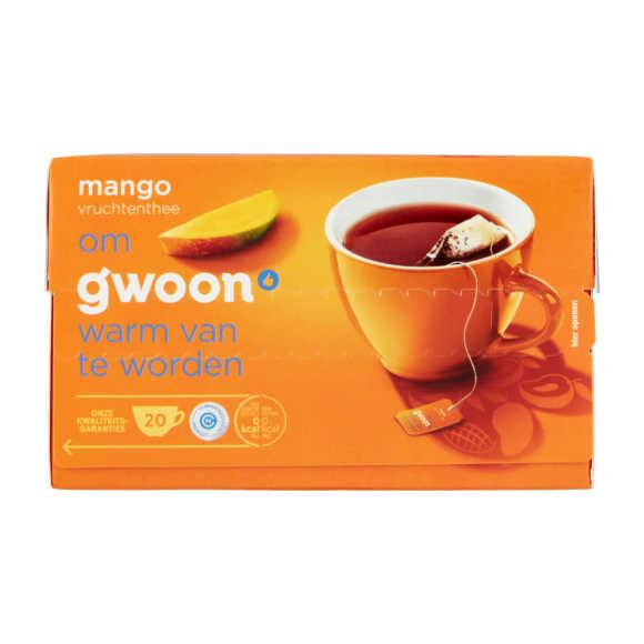 g'woon Vruchtenthee mango product photo