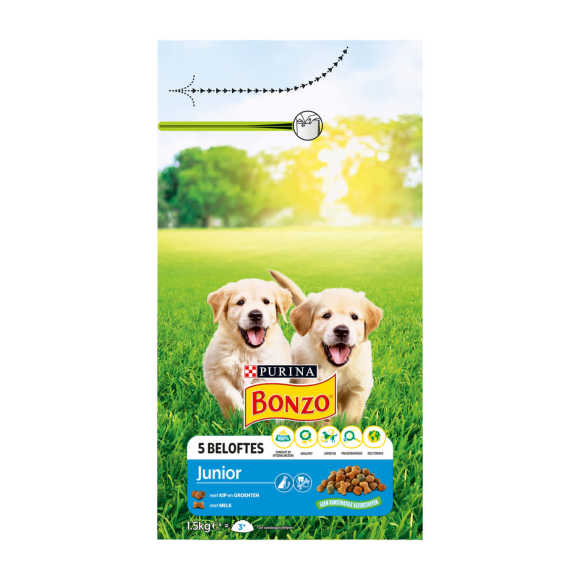 PURINA® Bonzo® Junior 1.5kg product photo