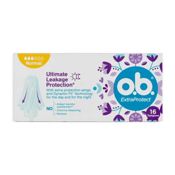 O.B. Tampons extra protect normal product photo