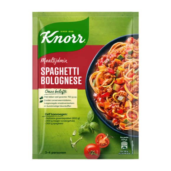 Knorr Mix voor spaghetti product photo