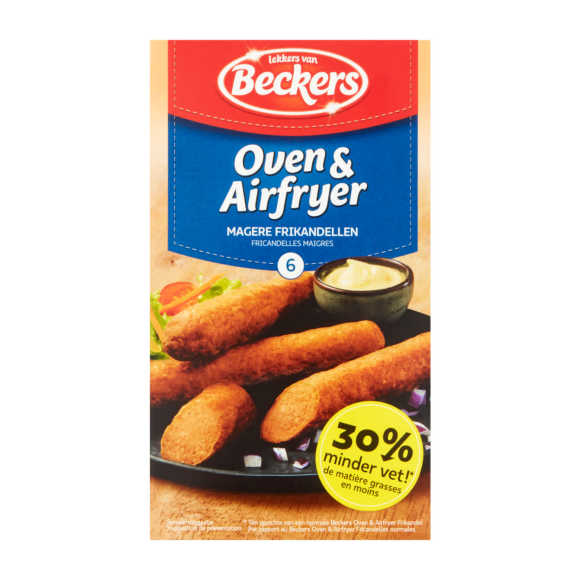 Beckers Oven frikandel mager product photo