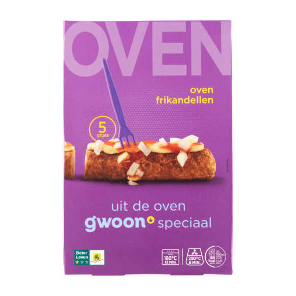 g'woon Oven frikandellen product photo