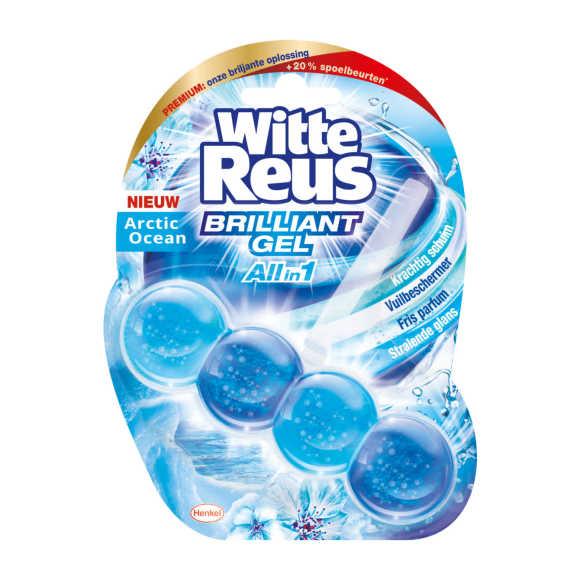 Witte Reus Toiletblok ocean brilliant gel product photo