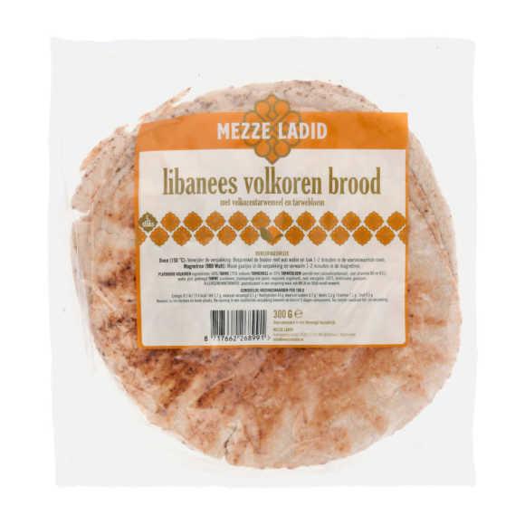 Mezze Ladid Libanees brood volkoren product photo