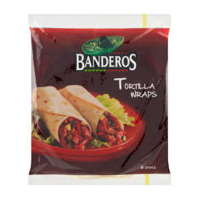 Banderos Tortilla wraps original product photo