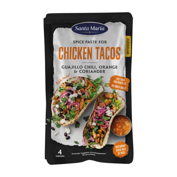 Santa Maria Spice paste chicken taco product photo