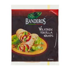 Banderos Tortilla wraps volkoren product photo