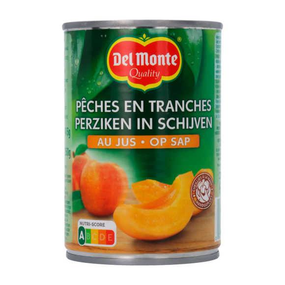 Del Monte 1/2 Perzik schijfjes sap product photo