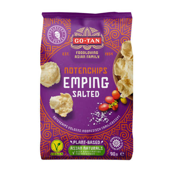 Go-Tan Emping salted product photo