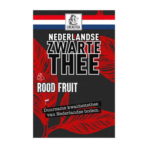 Localtea Nederlandse Zwarte Thee Rood Fruit 10 x 1,4 g product photo