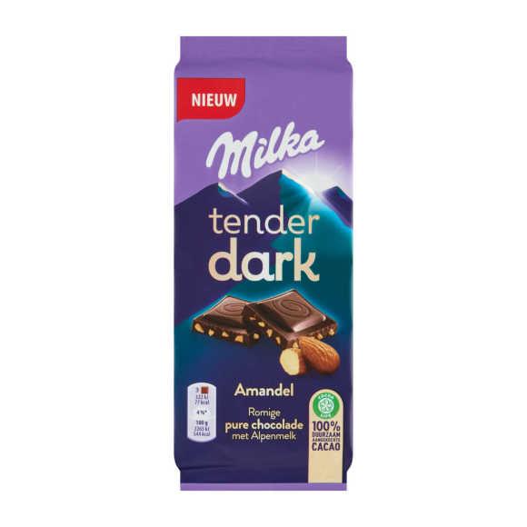 Milka Tender dark amandel product photo
