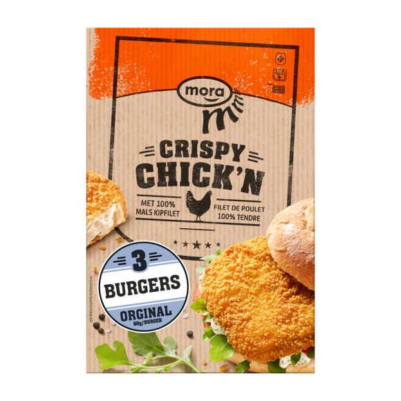 Mora Crispy Chick'n burger product photo