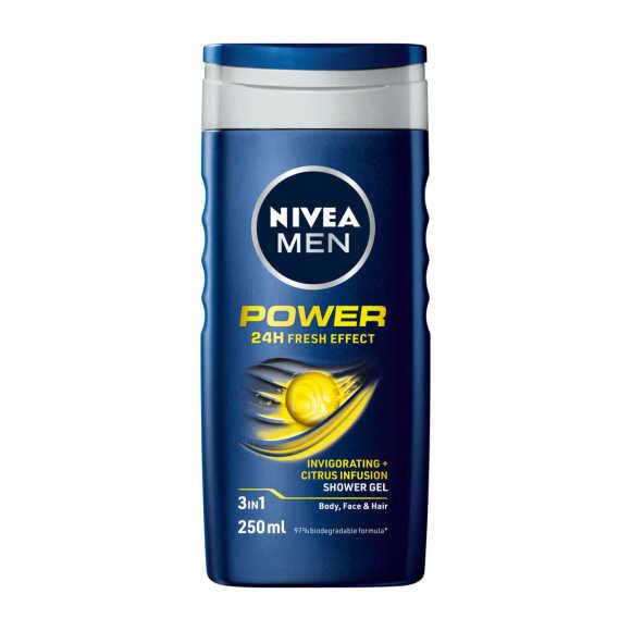 Nivea Douchgel power fresh men product photo