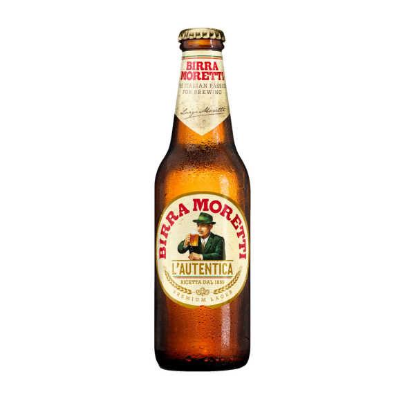 Birra Moretti Premium lager pils product photo