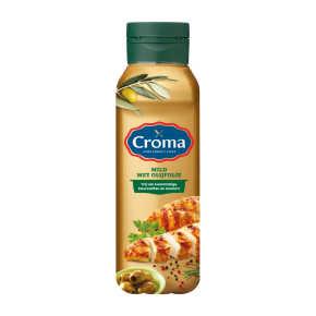 Croma Mild met olijfolie vloeibare bakboter fles product photo