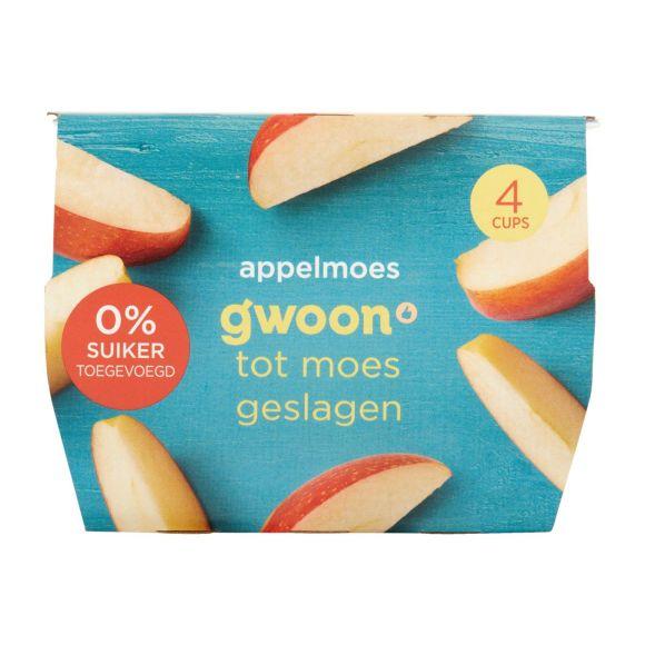 g'woon Appelmoes zonder toegevoegde suikers product photo