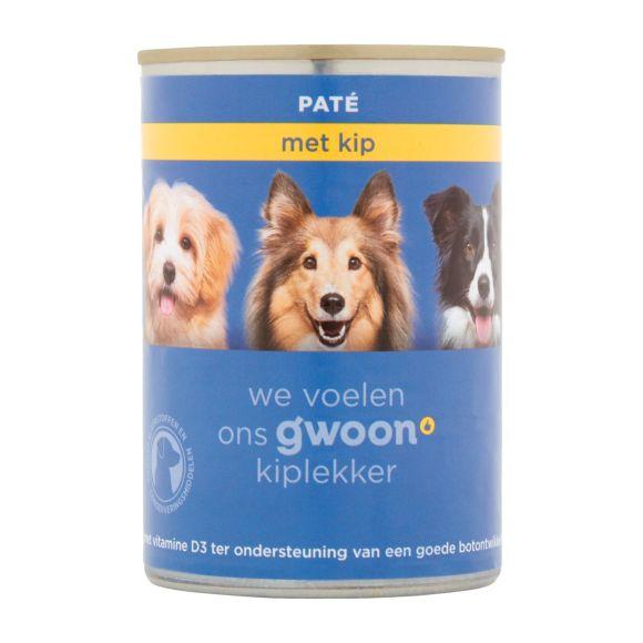 g'woon Adult paté met kip product photo
