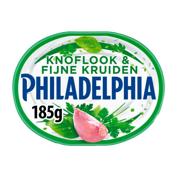 Philadelphia Roomkaas knoflook & fijne kruiden product photo