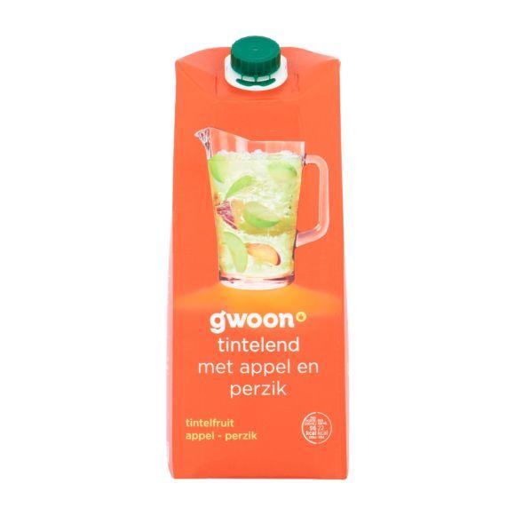 g'woon Tintelfruit appel perzik product photo