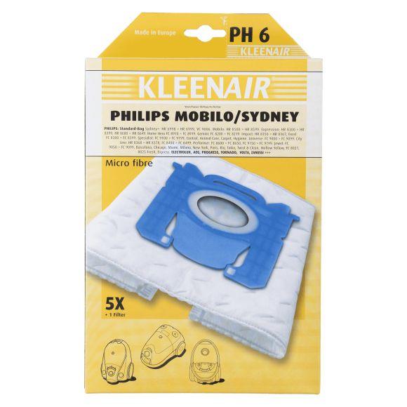 Kleenair Stofzuigerzakken Philips SB-1 product photo