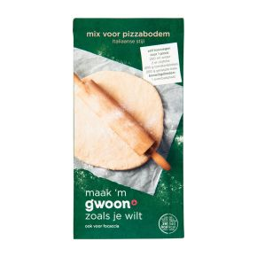 g'woon Mix voor pizzabodem product photo
