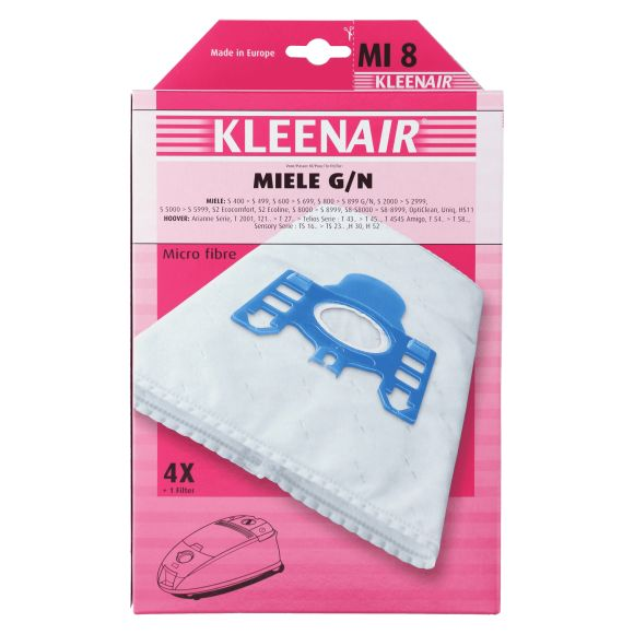 Kleenair Stofzuigerzakken Miele MI-8 product photo