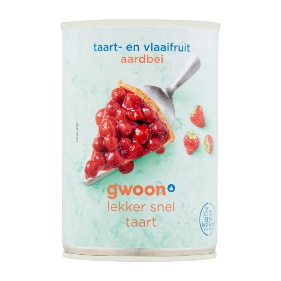 g'woon Vlaaifruit aardbeien product photo