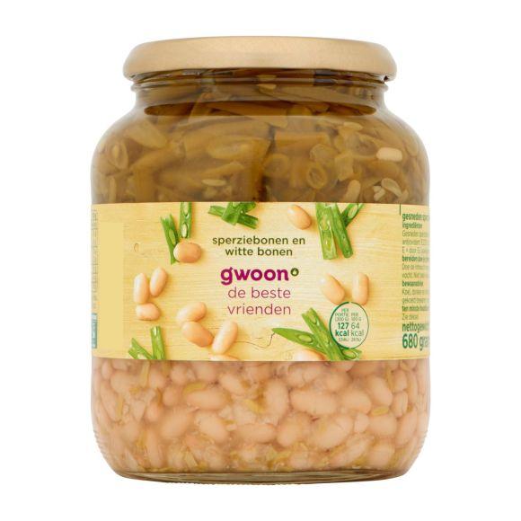 g'woon Snijbonen met witte bonen product photo