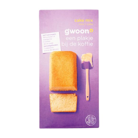 g'woon Mix voor cake product photo