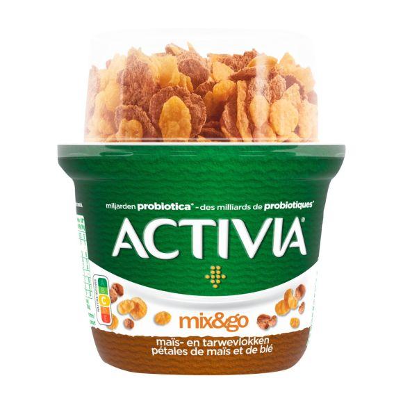 Activia Yoghurt breakfast product photo
