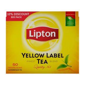 Lipton  Yellow Label zwarte thee product photo