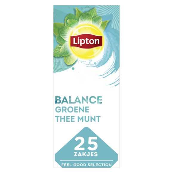 Lipton Feel good groen mint thee product photo