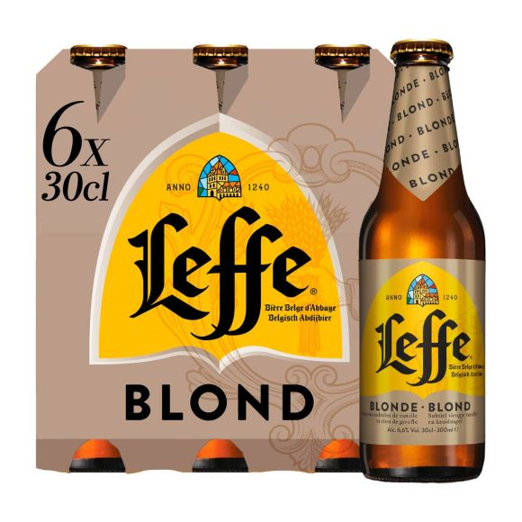 Leffe Blond fles 6 x 30 cl product photo