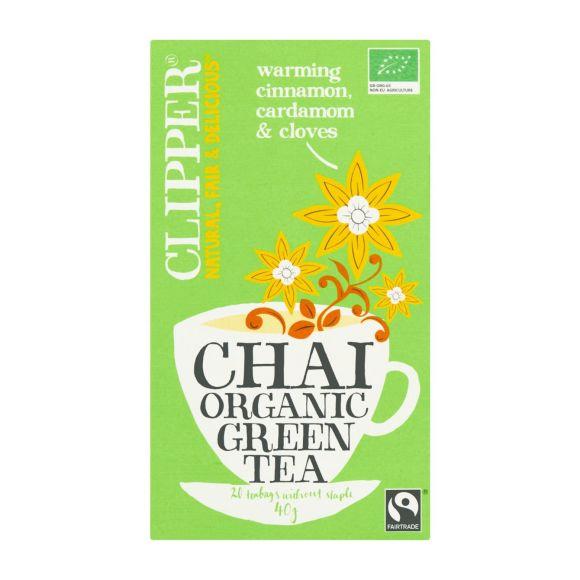 Clipper Chai organic green tea biologisch product photo