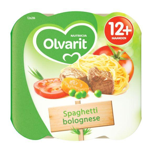 Olvarit peutermenu spaghetti product photo