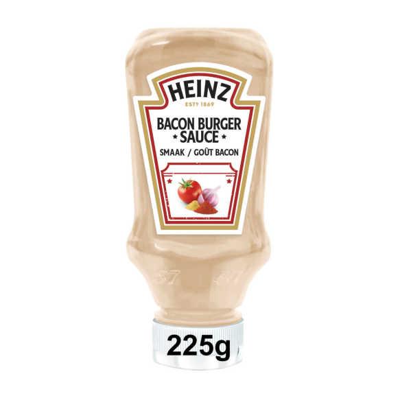 Heinz Bacon Burger Sauce (hamburger saus, bacon smaak) 220 ml product photo