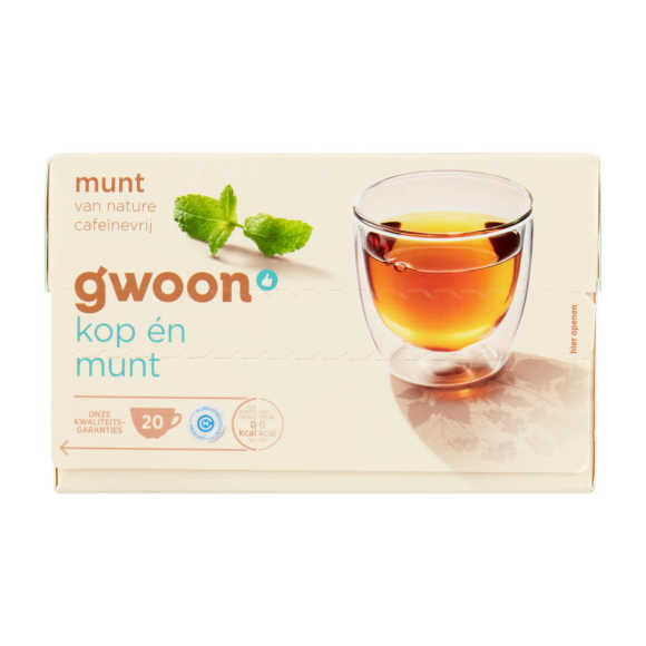 g'woon Munt thee product photo