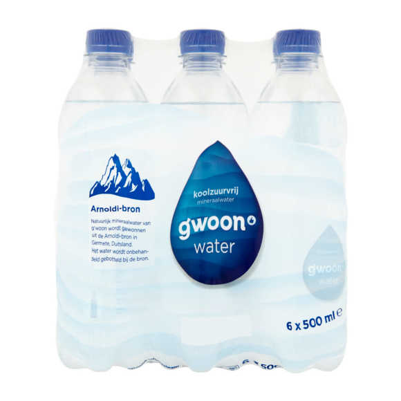 g'woon Koolzuurvrij mineraalwater product photo
