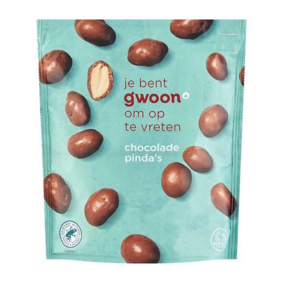 g'woon Chocolade pinda's product photo