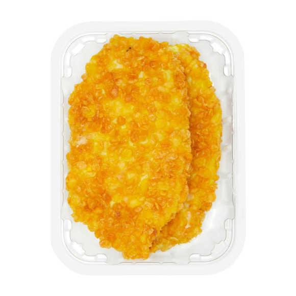 Vegetarische krokante schnitzel product photo