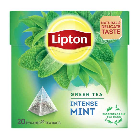 Lipton Springy mint green tea product photo