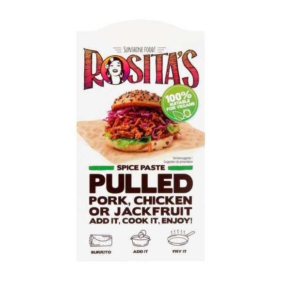 Rosita's Kruidenpasta pulled pork product photo