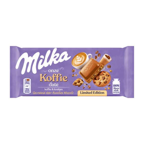 Milka Koffie chocolade product photo