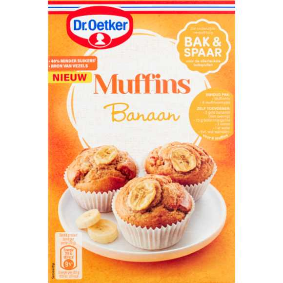Dr. Oetker Muffins banaan product photo