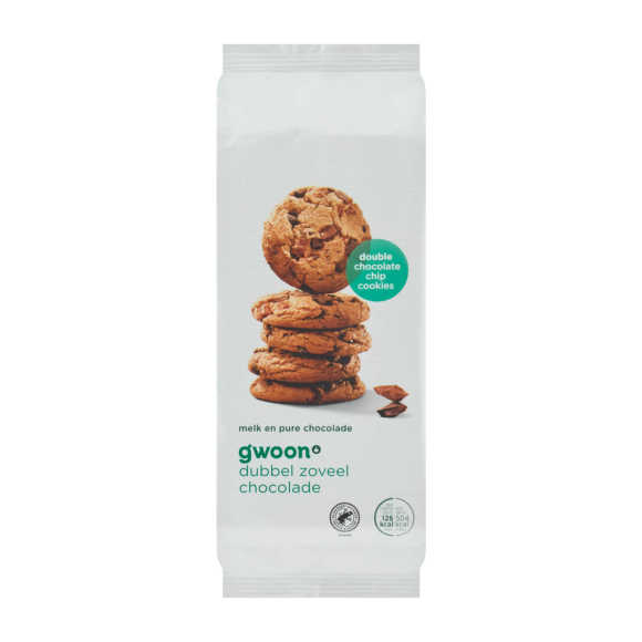 g'woon Doublechocolate cookies product photo