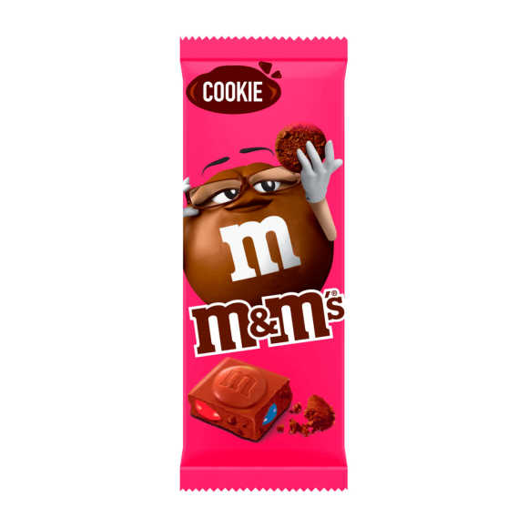 M&M BLOCK COOKIE 165G product photo